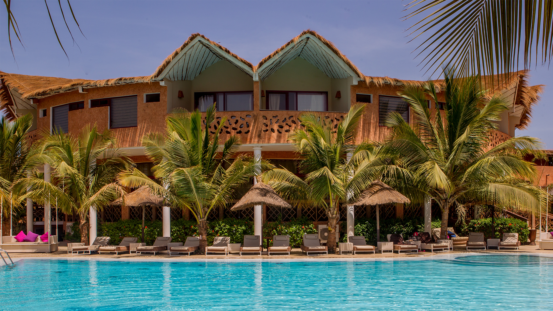 Hotel Senegal Saly Lamantin Beach Resort Spa Piscine